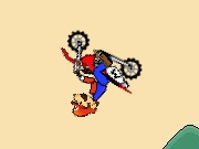 Mario Backflips