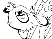Bambi And Friends Coloring Page thumbnail